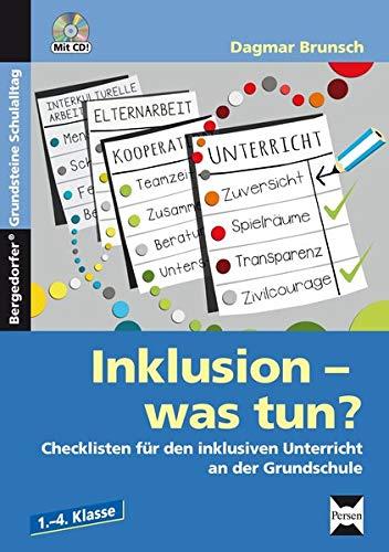 9783403210221: Inklusion - was tun? - Grundschule: Checklisten f�r den inklusiven Unterricht an der Grundschule (1. bis 4. Klasse)