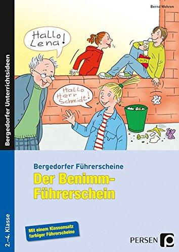 9783403234067: Der Benimm-F�hrerschein