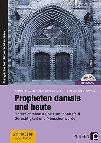 9783403234319: Propheten damals und heute