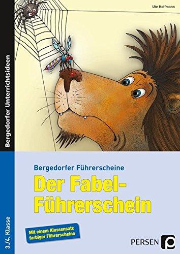 9783403234357: Der Fabel-Führerschein: 3. und 4. Klasse