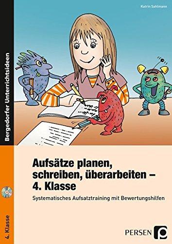 9783403234821: Aufsätze planen, schreiben, überarbeiten - Kl. 4