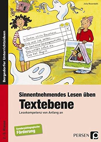 9783403235026: Sinnentnehmendes Lesen üben: Textebene: Lesekompetenz von Anfang an (2. bis 5. Klasse)