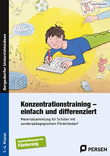 9783403235088: Konzentrationstraining - einfach und differenziert