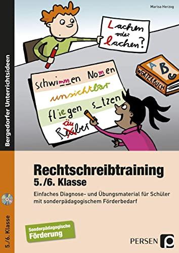 9783403236405: Rechtschreibtraining - 5./6. Klasse: Einfaches Diagnose- und Übungsmaterial für Schüler mit sonderpädagogischem Förderbedarf