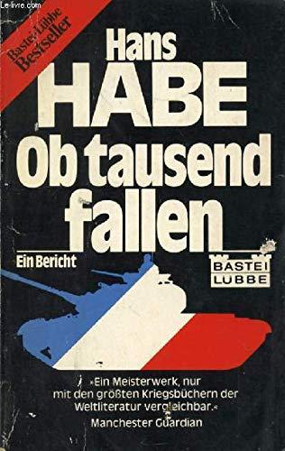 9783404004218: Ob tausend fallen.