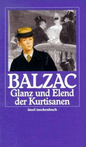 Glanz und Elend der Kurtisanen.: de Balzac, Honore: