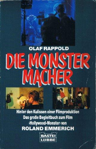 """Beispielbild für die monster - macher. hinter den kulissen einer filmproduktion. das große begleitbuch zum film """"hollywood - monster"""" von roland emmerich zum Verkauf von alt-saarbrücker antiquariat g.w.melling"""