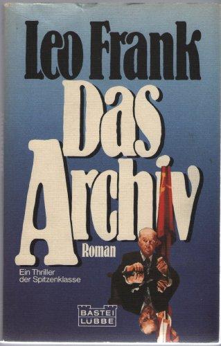 9783404141173: Das Archiv.