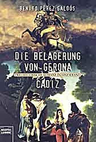 9783404142019: Die Belagerung von Gerona