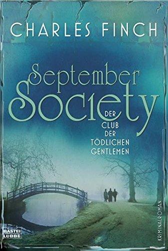 9783404163786: September Society: Der Club der tödlichen Gentlemen