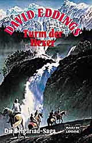 9783404202096: Die Belgariad- Saga IV. Turm der Hexer. Fantasy- Roman.