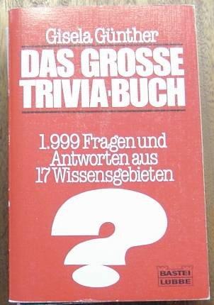 Grosse Trivia Buch Zvab