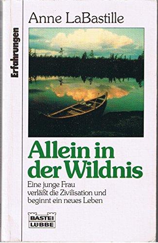 9783404611935: Allein in der Wildnis