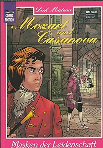 9783404725526: Mozart & Casanova. Masken der Leidenschaft