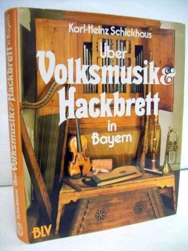 9783405120528: Uber Volksmusik und Hackbrett in Bayern
