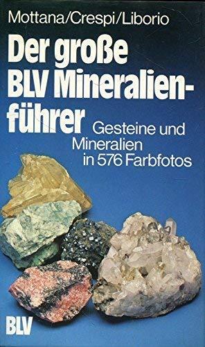 Der grosse BLV-Mineralienführer : Gesteine und Mineralien: Mottana Annibale Rodolfo
