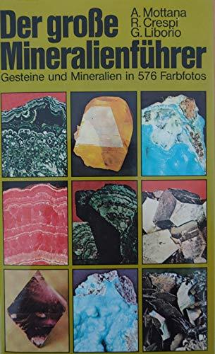 9783405126759: Der grosse BLV Mineralienführer. Gesteine und Mineralien in 576 Farbfotos