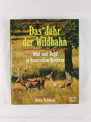 Das Jahr der Wildbahn. Wild und Jagd in heimischen Revieren: Helemann, Walter
