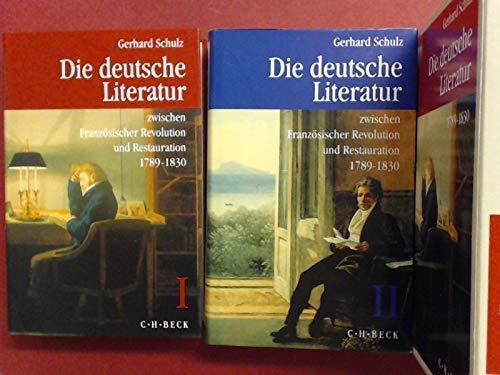 GESCHICHTE DER DEUTSCHEN LITERATUR VON DEN ANFAENGEN BIS ZUR GEGENWART, Band VII/1 & 2: ...