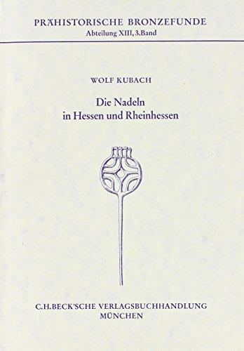 9783406007637: Die Nadeln in Hessen und Rheinhessen