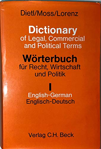 Dictionary of Legal, Commercial and Political Terms: Dietl, Clara-Erika, Anneleise