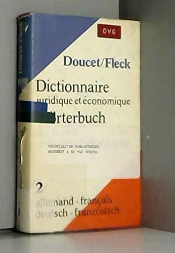 9783406011962: Dictionnaire juridique et �conomique