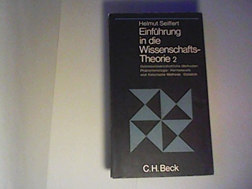 9783406024610: Einführung in die Wissenschafts Theorie 2.