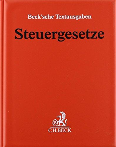 9783406026485: Steuergesetze Hauptordner 72 mm