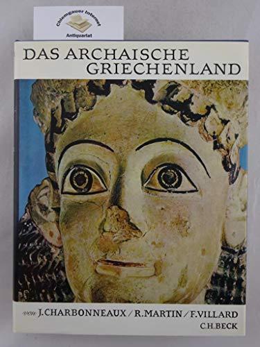 9783406030147: Universum der Kunst: Das archaische Griechenland 620-480 v.Chr.