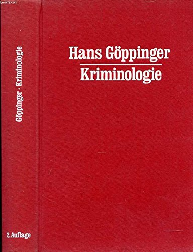 9783406035579: Kriminologie. Eine Einführung