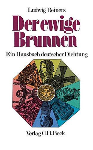 9783406041402: Der ewige Brunnen. Ein Hausbuch deutscher Dichtung. (German Edition)