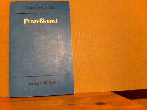 9783406043833: Prozesskunst : Beratungen z. Prozesserfolg. 2., neubearb. Aufl.