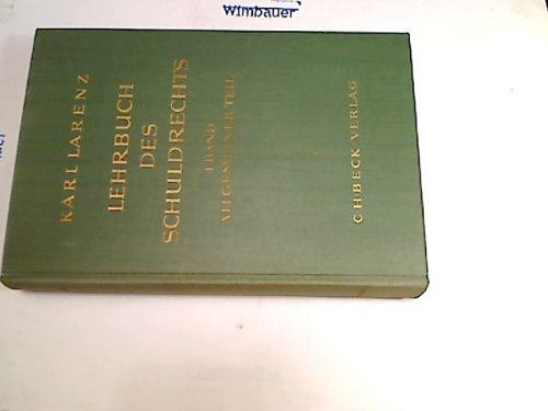 9783406061585: Lehrbuch des Schuldrechts