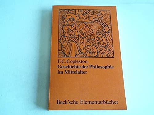 9783406061790: Geschichte der Philosophie im Mittelalter