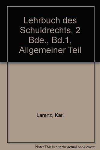 9783406062094: Lehrbuch des Schuldrechts