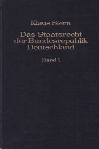 9783406070174: Das Staatsrecht der Bundesrepublik Deutschland