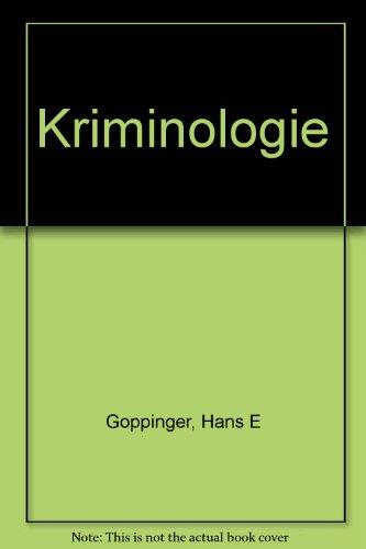 9783406073434: Kriminologie