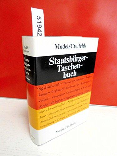 9783406079023: Staatsburger-Taschenbuch: Alles Wissenwerte uber Staat, Verwaltung, Recht und Wirtschaft (German Edition)