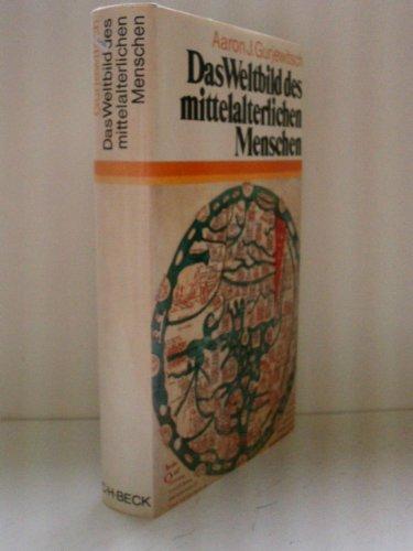 9783406079504: Das Weltbild des mittelalterlichen Menschen