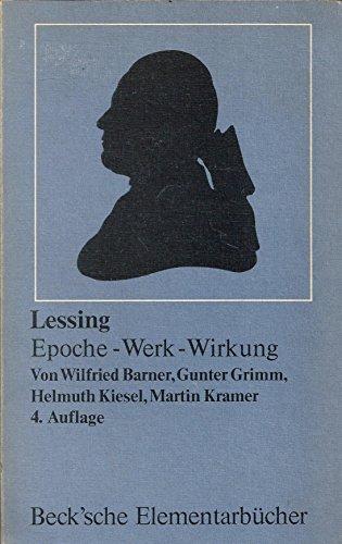 9783406080050: Lessing: Epoche, Werk, Wirkung (Arbeitsbucher fur den literaturgeschichtlichen Unterricht) (German Edition)