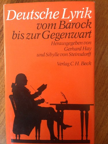 9783406080517: Deutsche Lyrik vom Barock bis zur Gegenwart (German Edition)