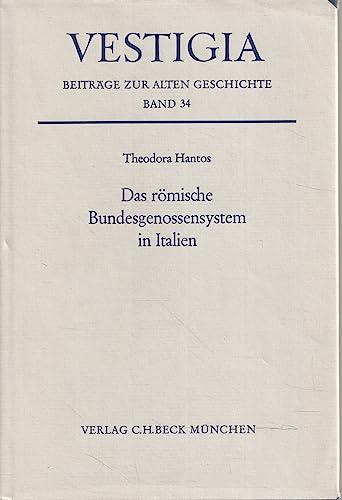 9783406080647: Das römische Bundesgenossensystem in Italien (Vestigia)