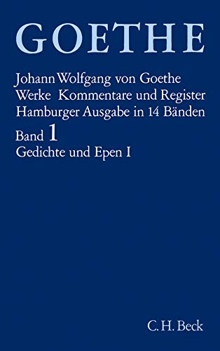 9783406084812: Gedichte und Epen I: Bd. 1