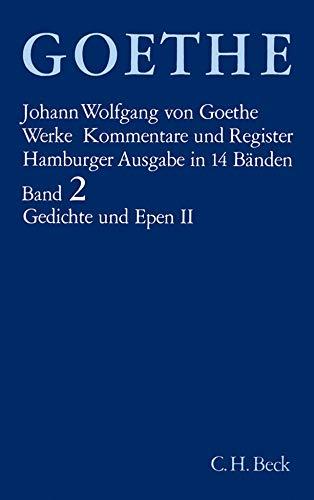 9783406084829: Werke, 14 Bde. (Hamburger Ausg.), Bd.2, Gedichte und Epen