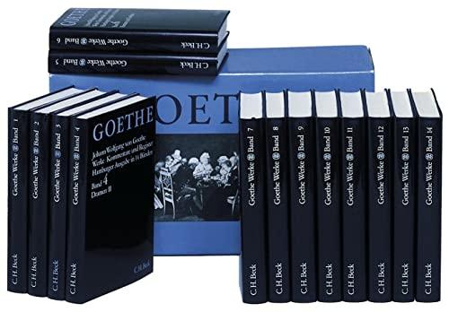 Goethe. Werke. Hamburger Ausgabe. (14 Baende in: Johann Wolfgang von