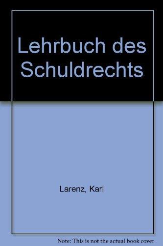9783406086090: Lehrbuch des Schuldrechts