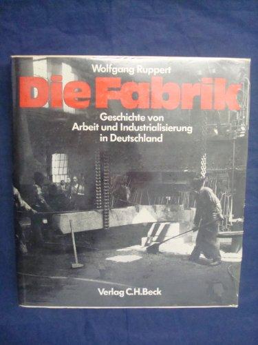 9783406088339: Die Fabrik: Geschichte von Arbeit und Industrialisierung in Deutschland