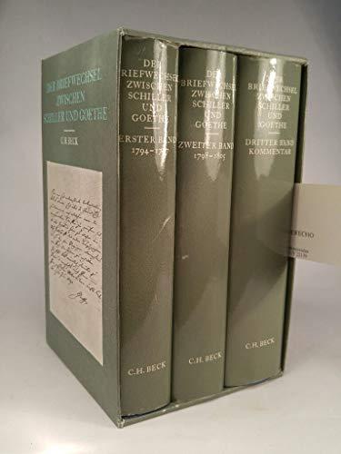 9783406089558: Der Briefwechsel zwischen Schiller und Goethe (German Edition)