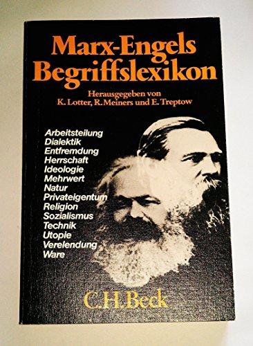 9783406092732: Marx-Engels-Begriffslexikon
