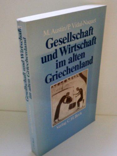 9783406094576: Gesellschaft und Wirtschaft im alten Griechenland.